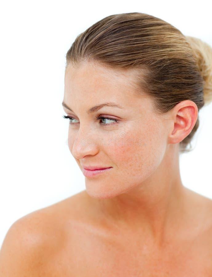 Download Mulher Positiva Em Seguida Que Tem Um Tratamento Dos Termas Imagem de Stock - Imagem de recurso, relaxe: 12813879