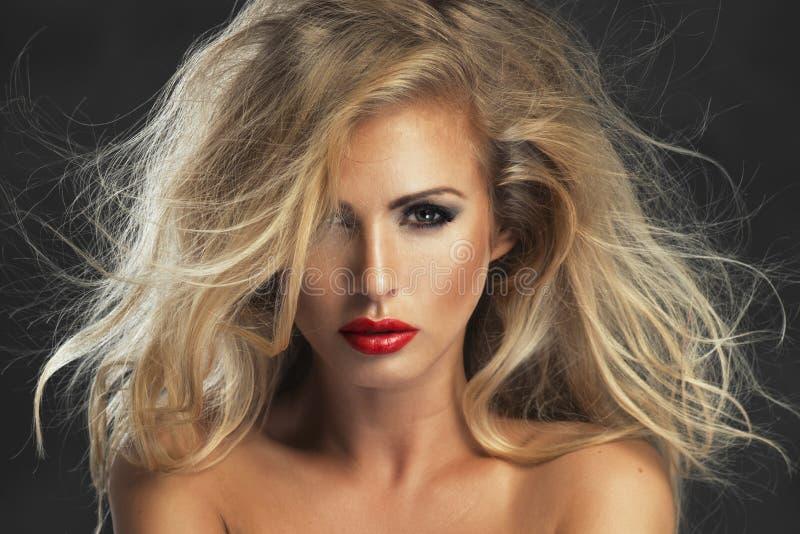 Mulher restrita 'sexy' imagens de stock royalty free