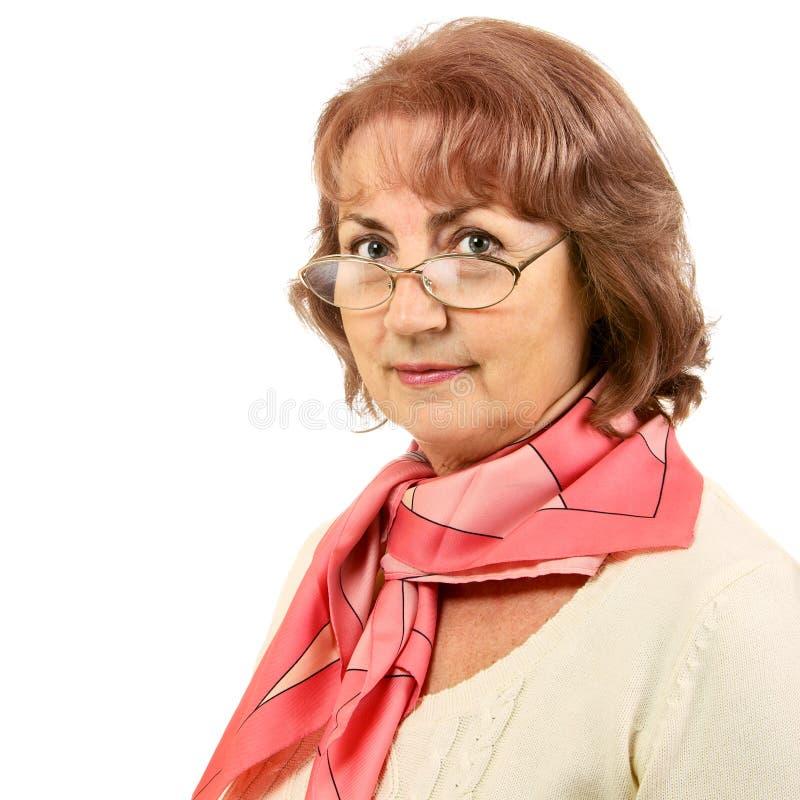 Mulher sênior foto de stock royalty free