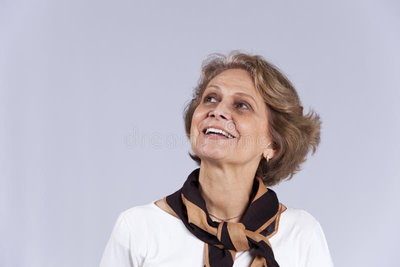 Mulher sênior bonita fotos de stock royalty free