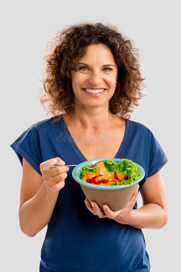 Mulher saudável imagem de stock royalty free