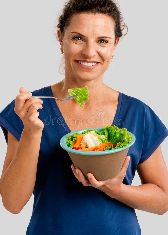 Mulher saudável imagem de stock