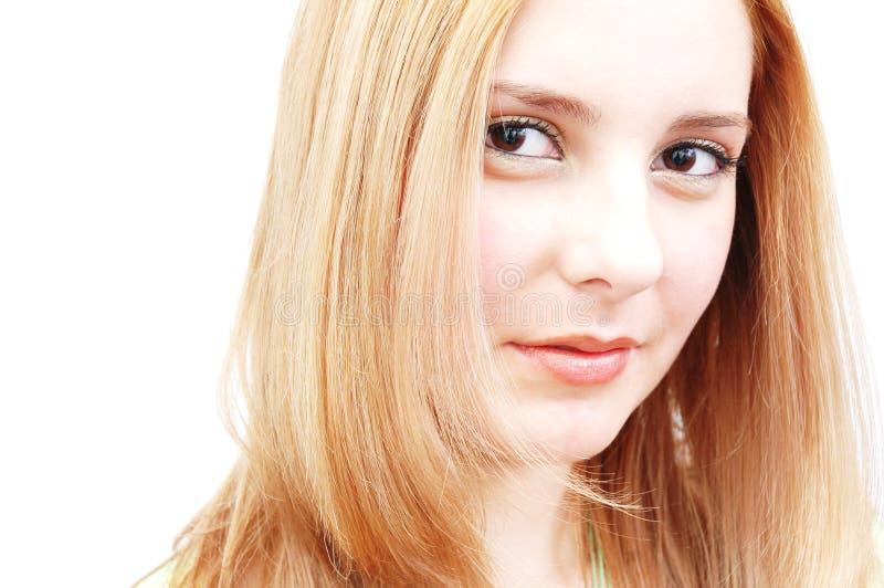 Mulher self-confident bonita imagem de stock royalty free