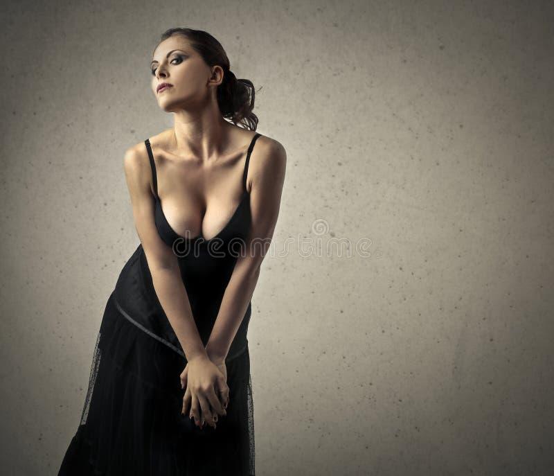 Mulher sensual imagem de stock royalty free