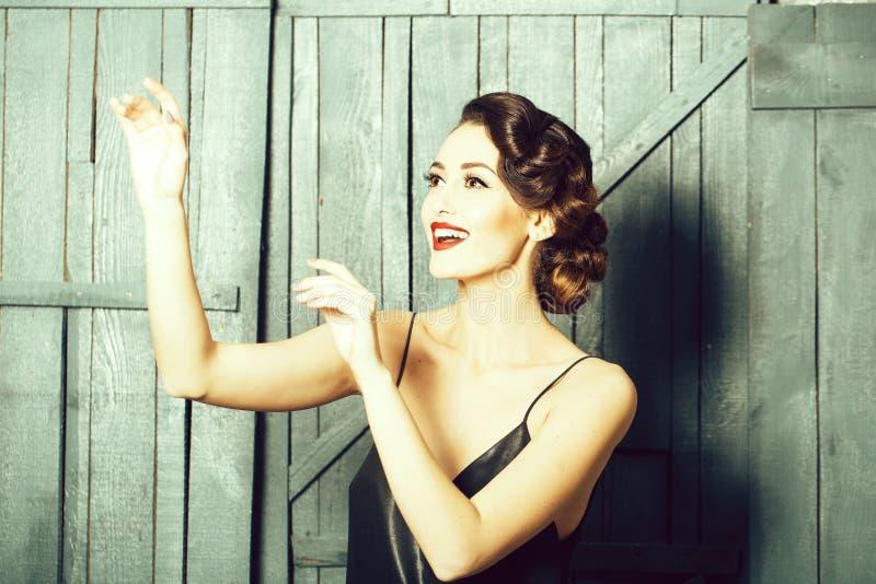 Mulher sensual bonito imagem de stock royalty free
