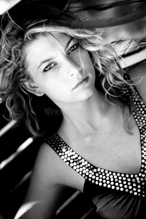 Mulher 'sexy' foto de stock