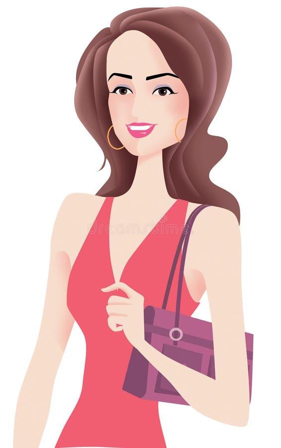 Mulher 'sexy' ilustração royalty free
