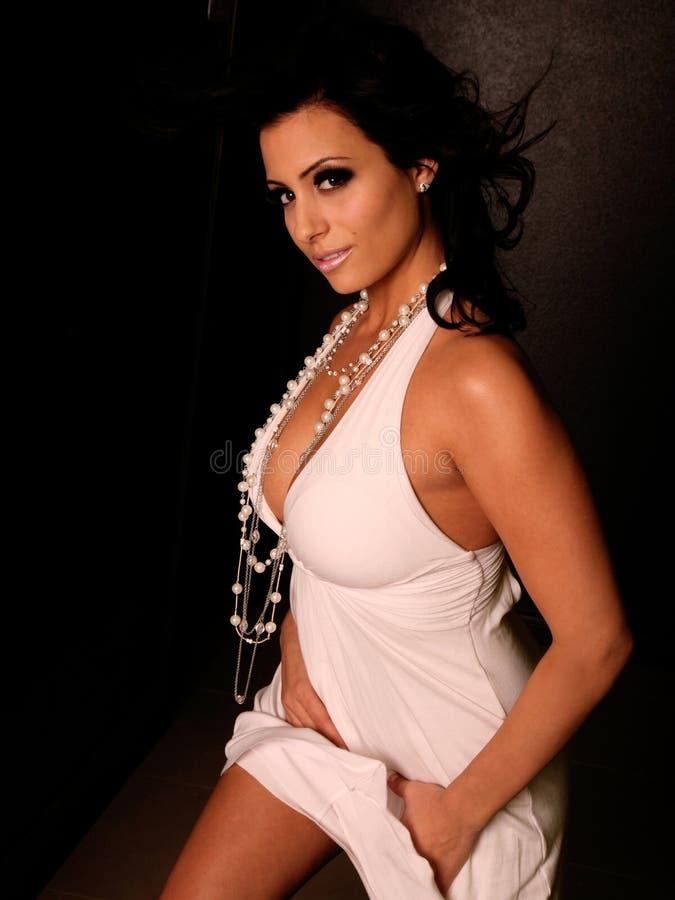 Mulher 'sexy' da forma imagens de stock royalty free