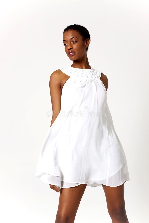 Mulher 'sexy' do americano africano imagens de stock