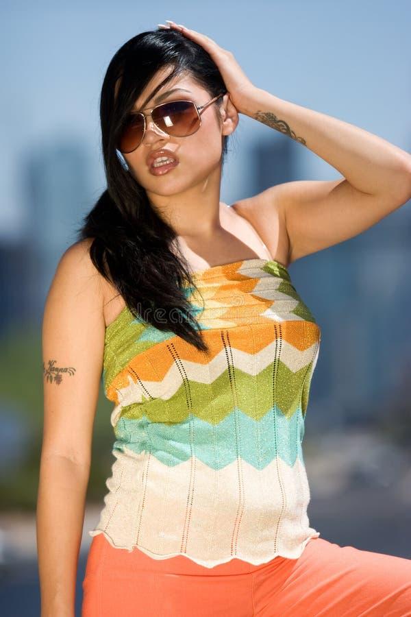 Mulher 'sexy' do Latino imagem de stock royalty free