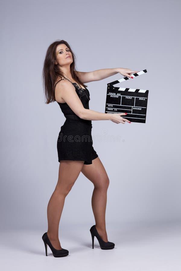 Mulher 'sexy' em hollywood fotos de stock royalty free