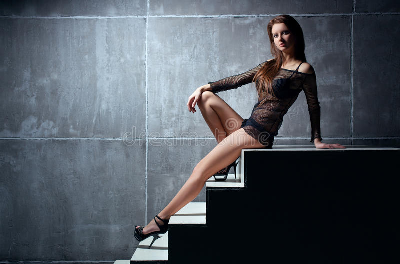 Mulher 'sexy' nova imagem de stock