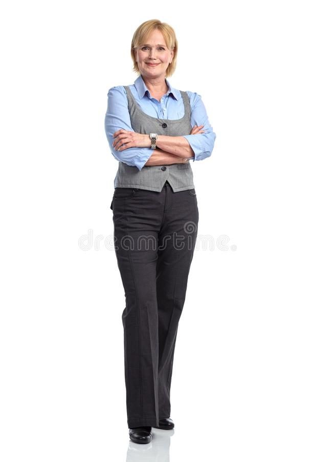 Mulher superior idosa de sorriso imagens de stock