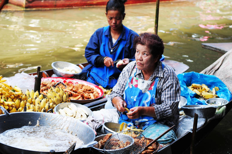 Mulher tailandesa imagens de stock