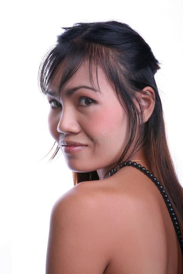 Mulher tailandesa bonita foto de stock royalty free