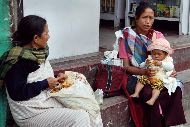 Download Mulher Tribal Indiana De Khasi Foto Editorial - Imagem de criança, ásia: 16855361