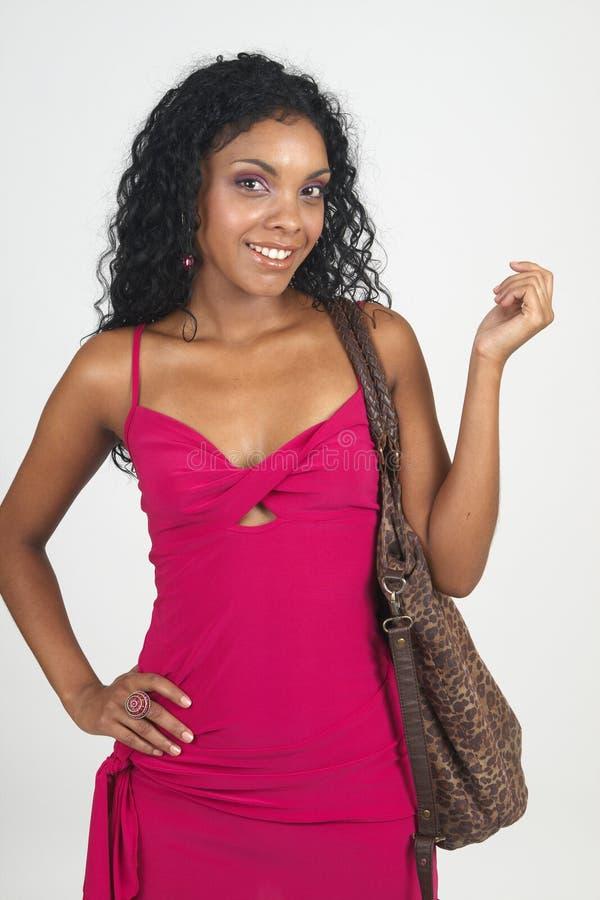 Download Mulher triguenha bonita imagem de stock. Imagem de roupa - 12809121