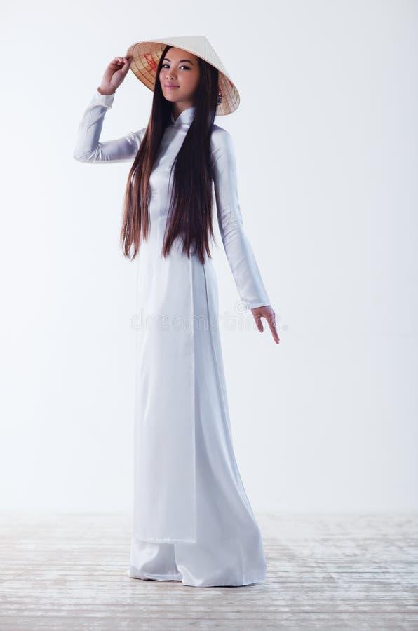 Mulher vietnamiana nova foto de stock royalty free