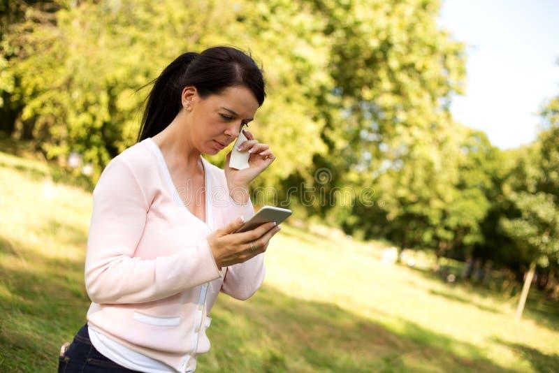 Mulher virada fotos de stock
