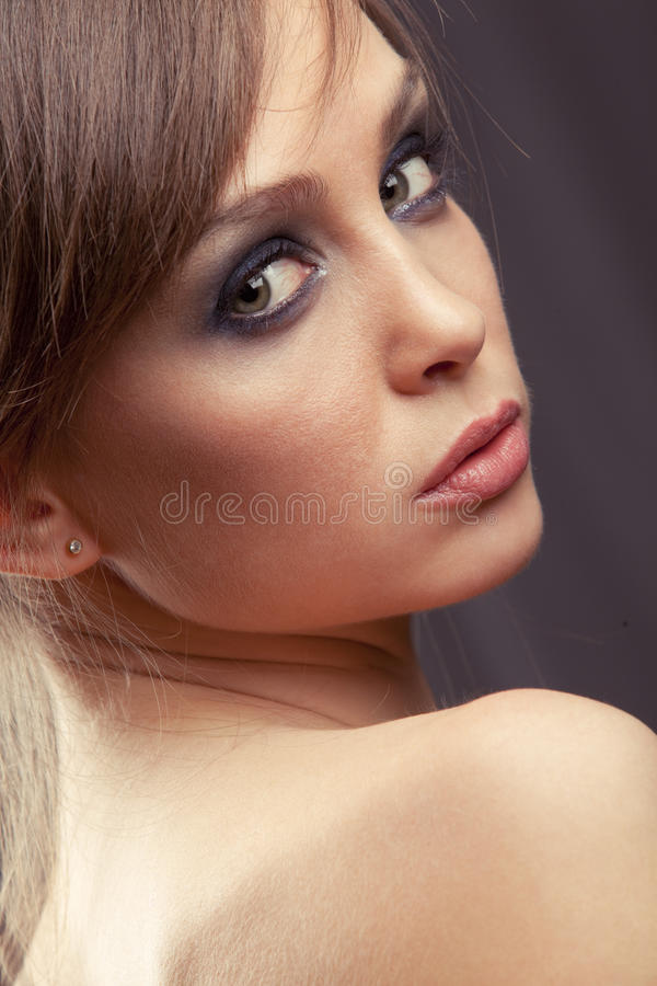 Mulher well-groomed Charming foto de stock royalty free