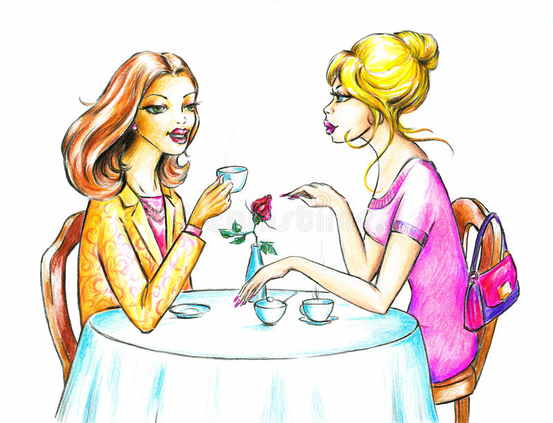 Mulheres ilustração stock