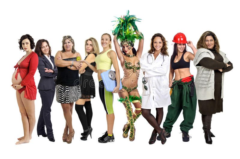 Mulheres imagens de stock royalty free