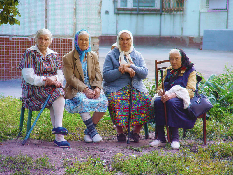 Mulheres adultas do russo fotos de stock royalty free