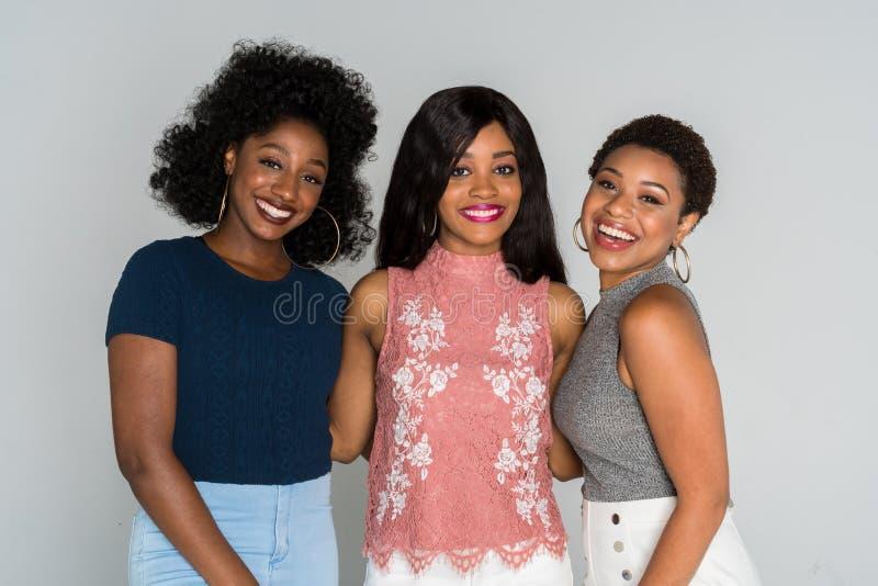 Mulheres afro-americanos fotografia de stock royalty free