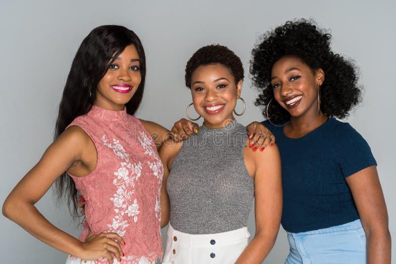 Mulheres afro-americanos foto de stock