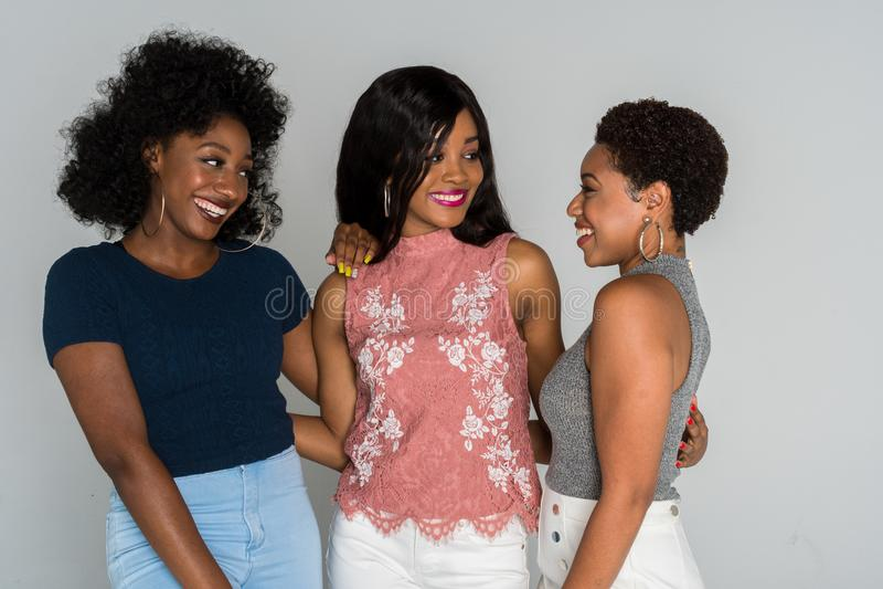 Mulheres afro-americanos imagens de stock royalty free