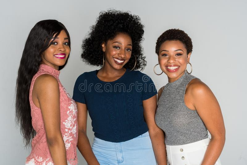 Mulheres afro-americanos fotos de stock royalty free