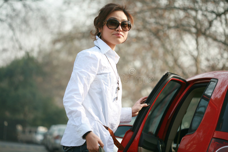 Mulheres asiáticas novas foto de stock royalty free
