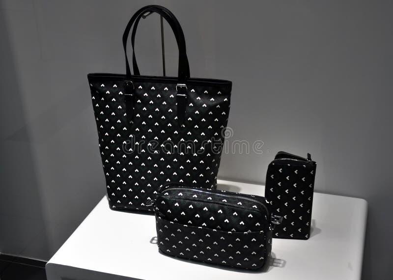 Mulheres bolsa, bolsa e carteira foto de stock royalty free