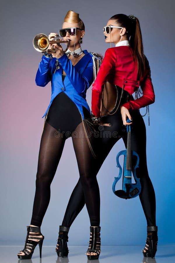 Mulheres bonitas fotografia de stock royalty free