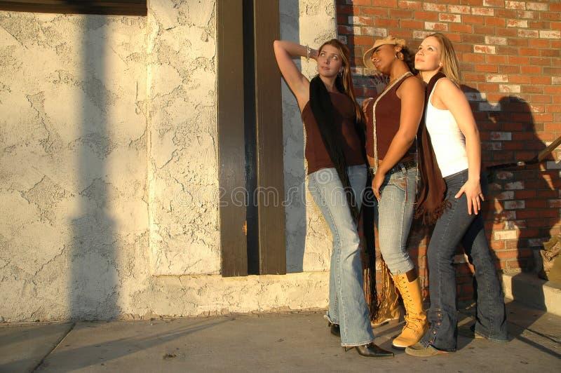 Mulheres bonitas da forma imagens de stock