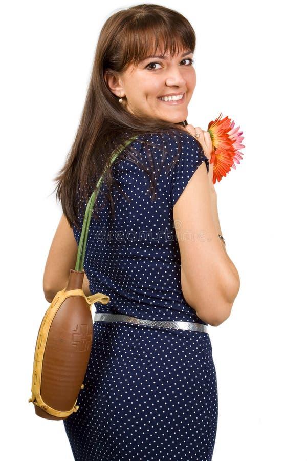 Mulheres com flores imagem de stock