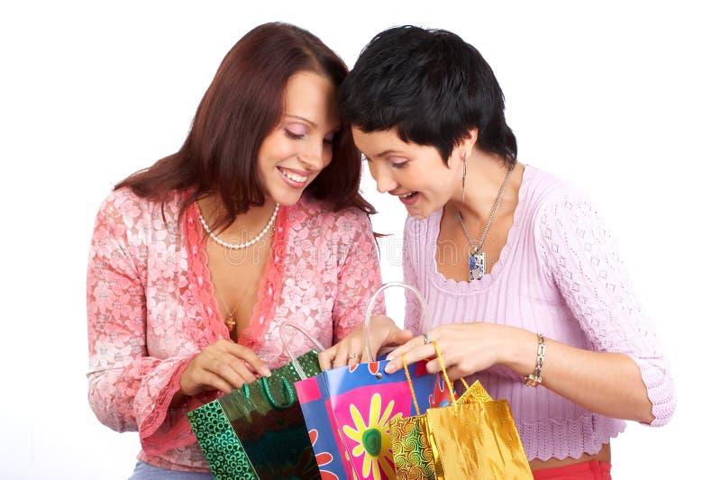 Mulheres da compra imagem de stock