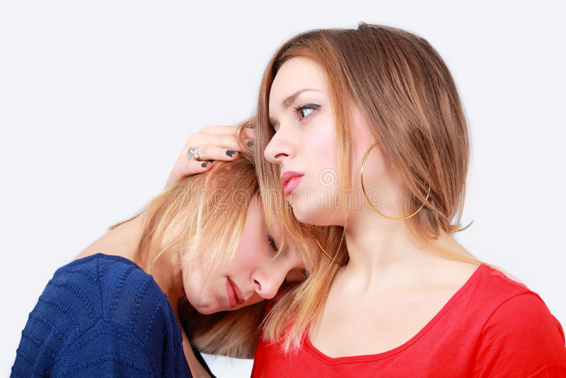 Mulheres de consolação imagens de stock