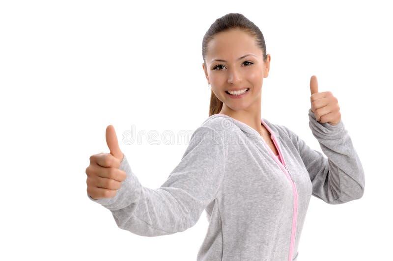 Mulheres de negócio atrativas bonitas imagens de stock