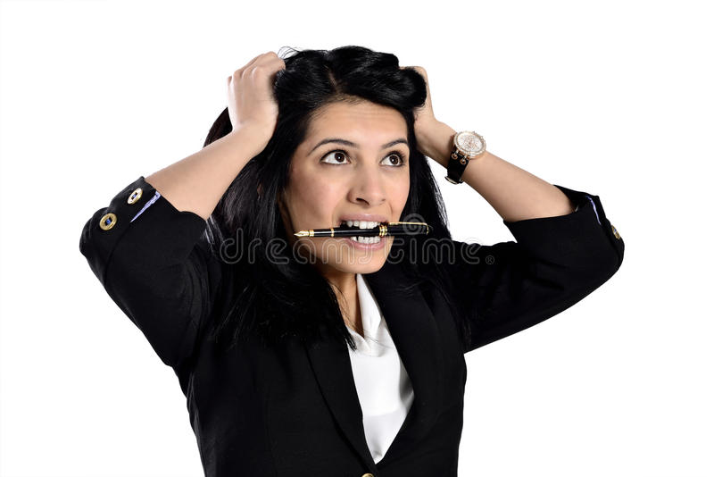 Mulheres de negócio atrativas bonitas imagem de stock royalty free
