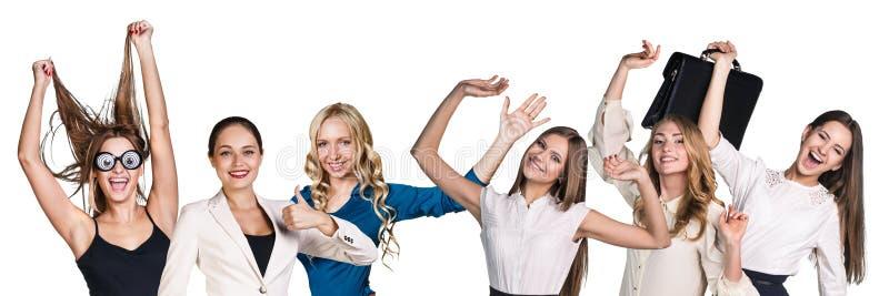 Mulheres de negócio bem sucedidas imagens de stock royalty free