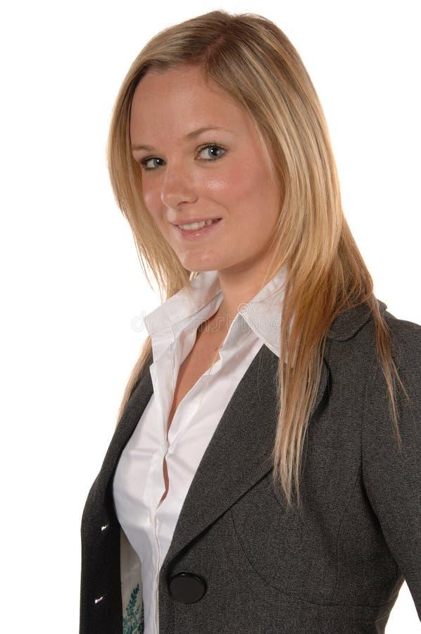 Mulheres de negócio de sorriso imagens de stock