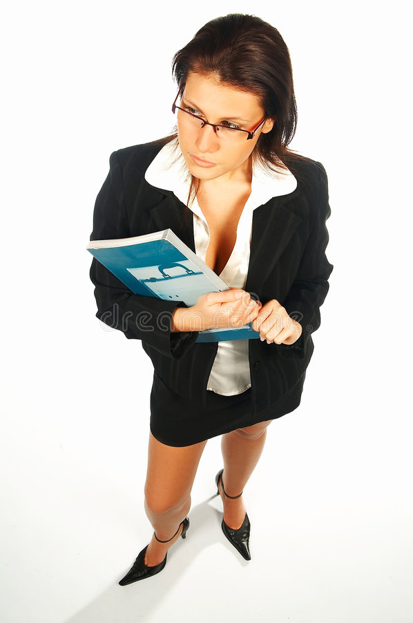 Mulheres de negócio 'sexy' 2 foto de stock royalty free
