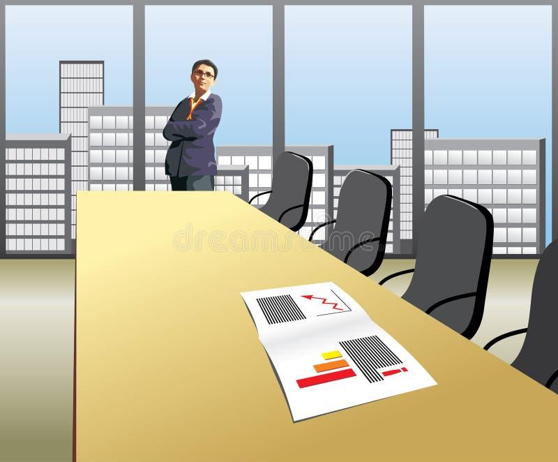 Mulheres de negócios ilustração stock