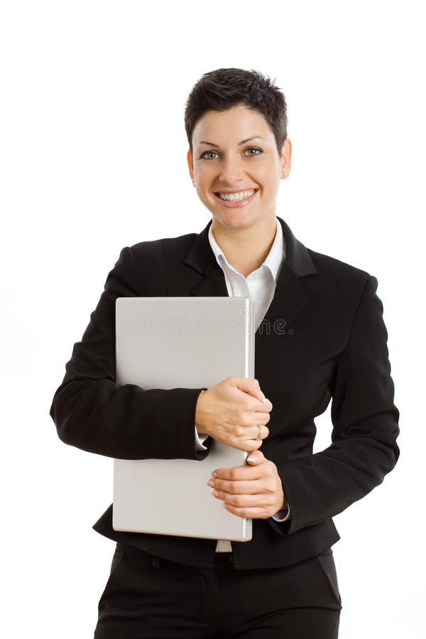 Mulheres de negócios que chamam o telefone imagem de stock