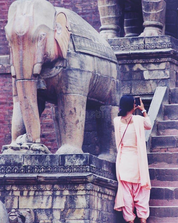 Mulheres de Nepal imagens de stock royalty free
