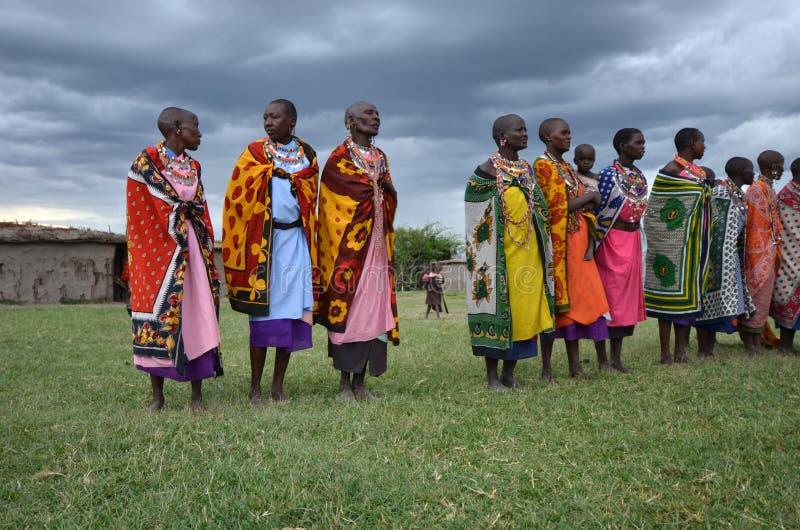 Mulheres do Masai imagem de stock