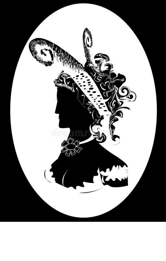 Mulheres do renascimento ilustração royalty free