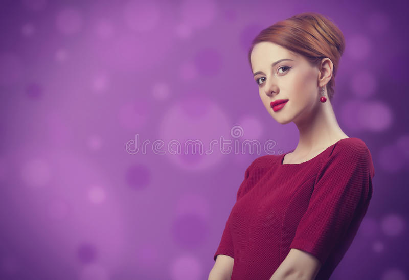 Mulheres do ruivo fotos de stock royalty free