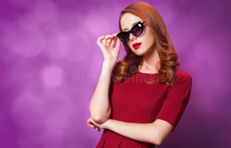 Mulheres do ruivo fotografia de stock royalty free
